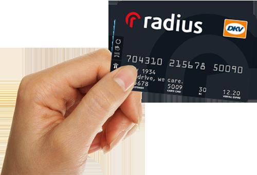 Sistema Trasporti convenzione carta carburante DKV Radius